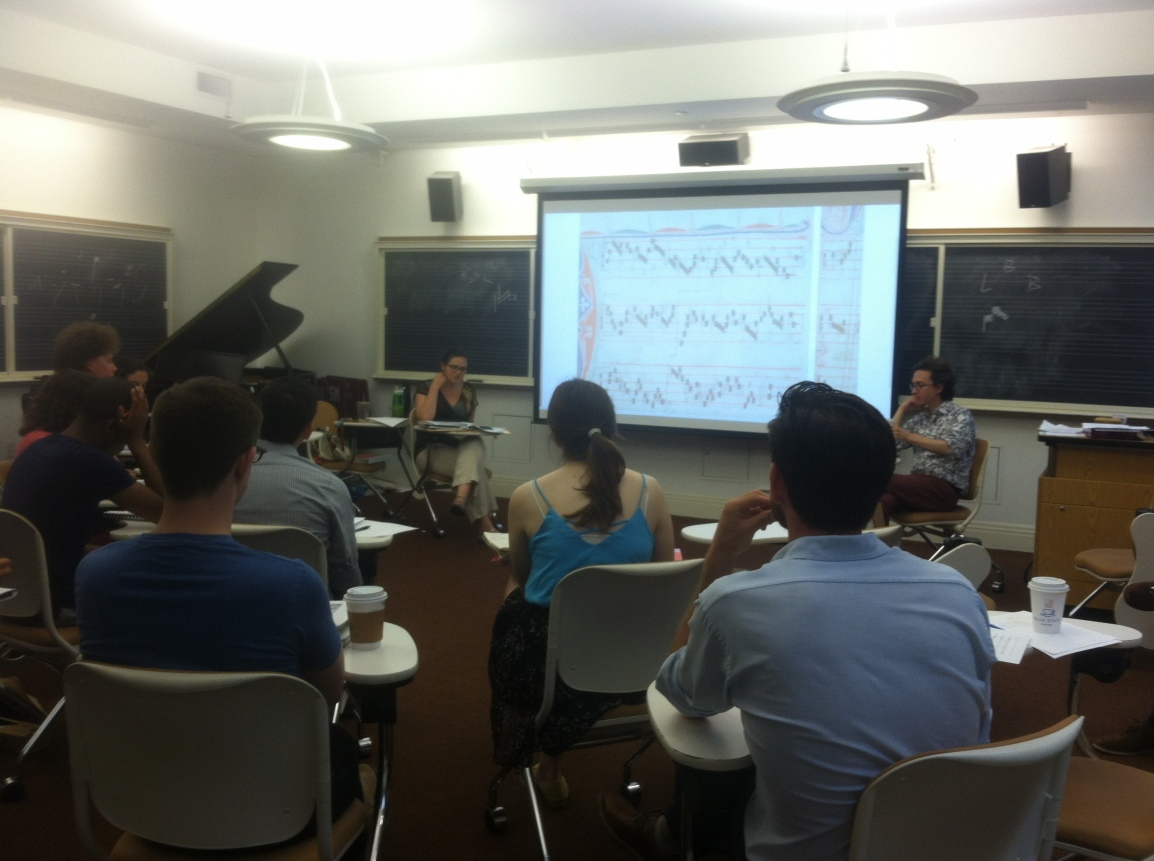 Summer Latin in Toronto and Historical Notations atYale