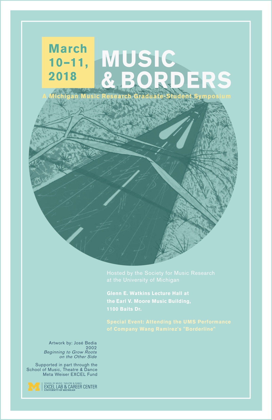 Music and Borders poster