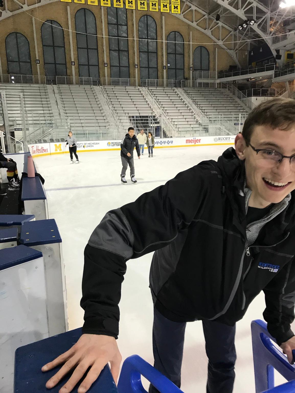 SMR goes iceskating