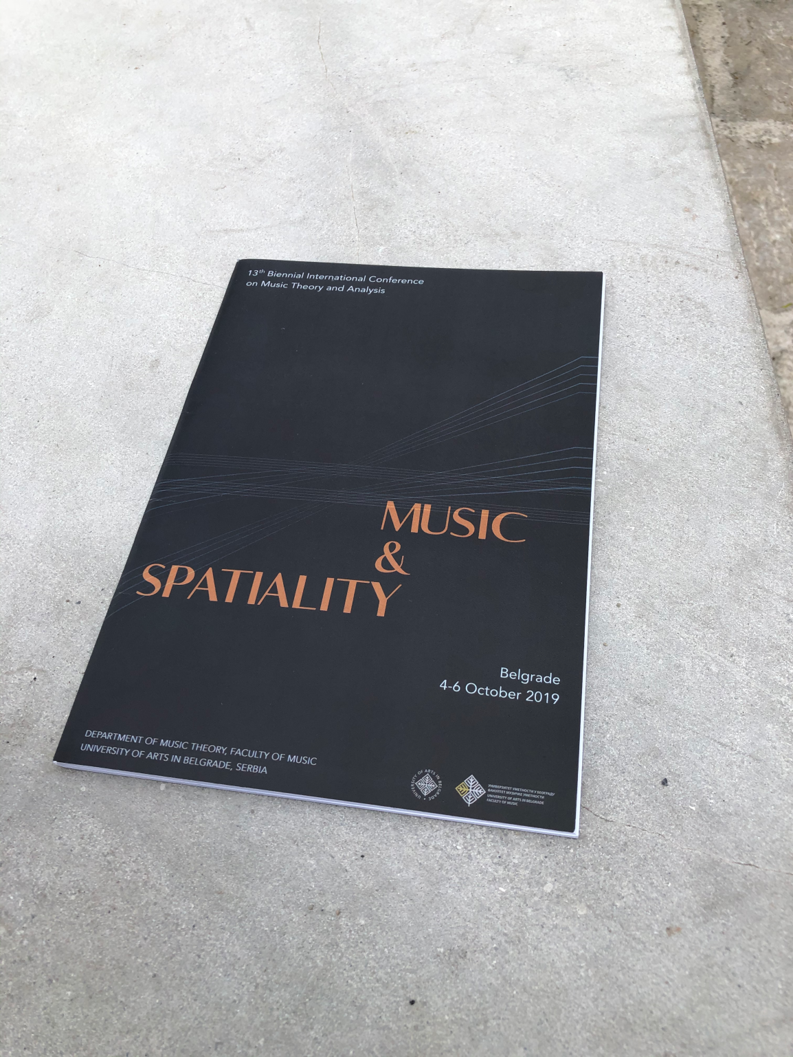 Dorian Mueller Presents at Music and Spatiality conference in Belgrade